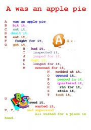 ... Related Pictures Alphabet Chart Printable Alphabet Grammar Writing And