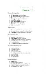 English worksheet: Useful Phrases!