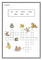 English Worksheets: animals.