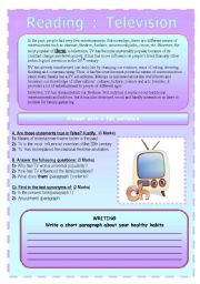 English Worksheets: 2-skill worksheet