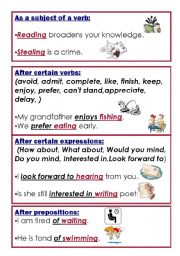 English worksheets: Gerunds and Infinitives worksheets, page 33