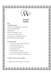 English Worksheets: Movie Guide The others