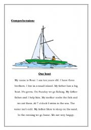 Comprehension Our Boat