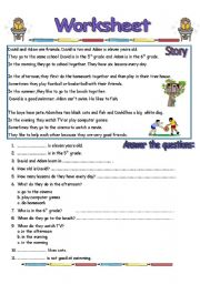 Worksheets English Comprehension Worksheets english teaching worksheets reading comprehension comprehensionworksheet 2 pages