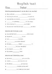 Worksheets English For Beginners Worksheets english worksheet test beginners
