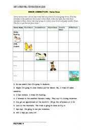 English Worksheets: HORSE RACE FOR ERROR CORRECTION