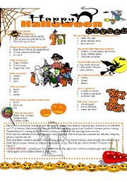 English Worksheets: HALLOWEEN (2/2)