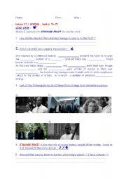 English Worksheets: Video workshop  TV series COLD CASE : Strange Fruit