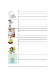 English Worksheets: Asking questions about a picture