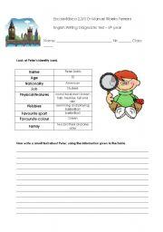 English Worksheets: Personal Identificatio