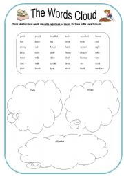 Printables Cloud Worksheets cloud worksheets plustheapp word a simple worksheet to review the lessons on