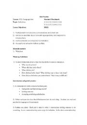 English Worksheet: Invitations Role-play