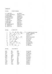 English Worksheet: Careers (2/2)
