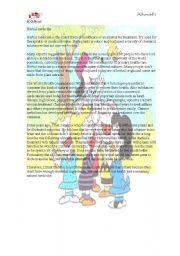 English Worksheet: charitas of peru