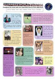 English Worksheets: Guinness World Records