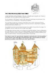 the globe theatre esl worksheet by lanlaura. Black Bedroom Furniture Sets. Home Design Ideas