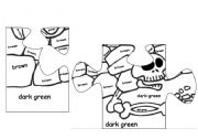 English Worksheet: BIG HALLOWEEN PUZZLE, PART FIVE OF FIVE