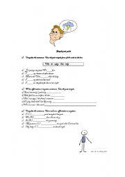 English worksheet: SIMPLE PAST