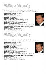 Leo Dicaprio´s Biography