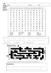 English Worksheets: Creation 2