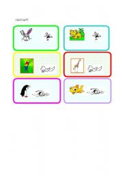 English Worksheets: animals-part one