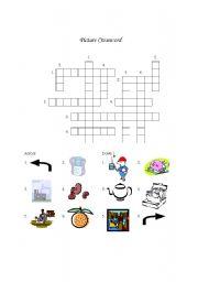 English Teaching Worksheets Crosswords