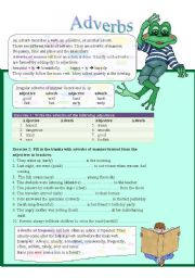 Adverbs (part 1)