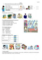 test for primary school