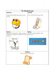 English Worksheets: The Writing Process
