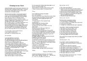 English Worksheet: Cleaning out my closet by Eminem