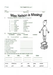 miss nelson is missing free worksheets by unarpernei1974 on DeviantArt