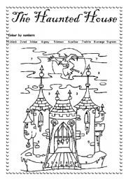 English Worksheets: A halloween exercice