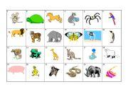 English Worksheets: Animal L�K