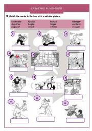 esl worksheets for adults crime and punishment. Black Bedroom Furniture Sets. Home Design Ideas