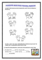 personal pronouns coloring pages - photo#28