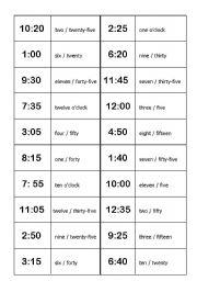 Time domino esl worksheet by oemlyz english worksheet time domino ibookread ePUb