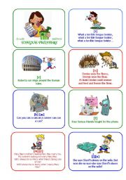 English Worksheets: What a terrible tongue twister...