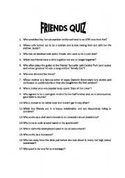 Friends Quotes, Facts & Trivia - TV.com