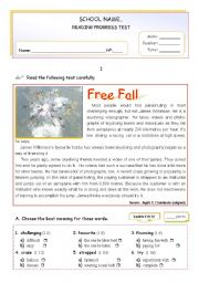 English Worksheet: Sports -