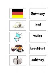 English Worksheets: Memory - words