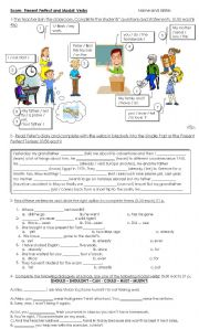English Worksheet: Present perfect vs Simple past in context