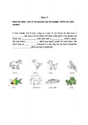 English Worksheet: Anothe exercise based on Movers