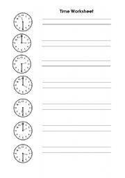 Telling the time esl worksheet by zippie english worksheet telling the time ibookread Read Online