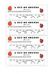 English Worksheets: A bit of sounds