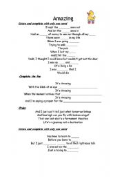 English Worksheet: Aerosmith