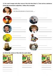 English Worksheets: Kids� introductions - Part 2