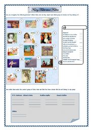 English Worksheet: Fairy tales and fables