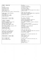 English Worksheets: Jeremy-Pearl Jam
