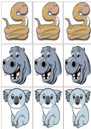 English Worksheets: animals flashcards part IV