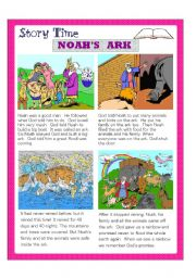 English Worksheets: Noah�s Ark